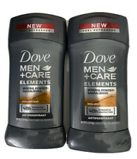 Dove Men+Care Elements Antiperspirant Deodorant Stick, Mineral Powder + Sanda...