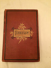 Antique The Complete Works Of Alfred Tennyson Poet Edition Illustrations 1880s