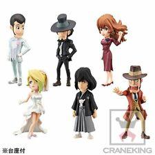 Banpresto Lupin The Third World Collectable Figure II Set of 6 Lupin Rebecca etc