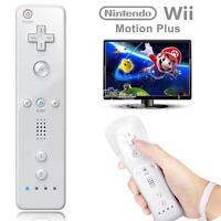 Brand New White Remote Controller For Nintendo Wii & Wii U + Silicone + Strap