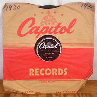 Jo Stafford That's For Me / Gee, It's Good to Hold You 78 Capitol CLEANED E-