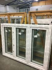 Kunststofffenster Fenster Salamander, 180x130 cm (b x h), weiß, 3-flügelig