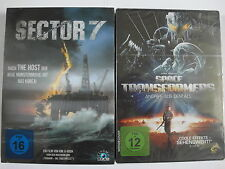 Fantasy Sammlung - Sector 7 & Space Transformers - Monster aus dem Meer und All