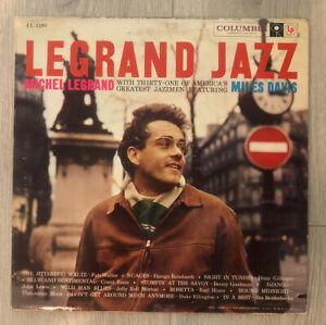 Michel Legrand feat. Miles Davis, Columbia CL1250, 6 Eye, 1958