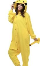 Brand New Unisex Sleep Wear Pajamas Costume Kigurumi Pokemon Pikachu Sz L