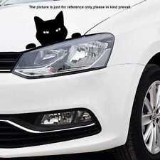 Funny Cat For JDM Auto Car/Bumper/Window Vinyl Decal Sticker Decals D IAC Black