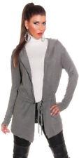 Ropa de mujer de color principal gris de seda talla 36