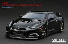 Rare 1:43 HPI #8323 RESIN NISSAN GTR R35 PREMIUM BLACK Not BBR Make Up Looksmart