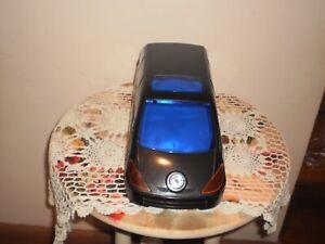 BLACK PLASTIC  CAR  / VAN CD / DVD / DISC HOLDER  LOCKABLE WITH  KEY