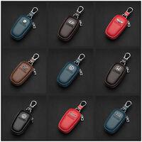 Men and women high-grade Cowhide Genuine Leather Car logos Keyring Key chain Bag