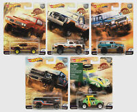 Hot Wheels Premium Car Culture 2019 Desert Rally Set of 5 - FPY86-956K  In Stock