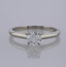 Cartier 0.60 Carat Diamond Solitaire Engagement Ring Platinum