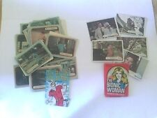 Six Million Dollar Man AND Bionic Woman cards