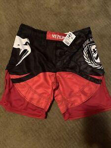 Venum XL Hero 3-Way Vault Jose Aldo MMA Fight Shorts - Red/Black NWT