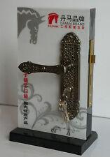 External Door Handle Period Bronzed Effect m1807