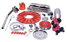 VW BUG ENGINE DRESS UP KIT (RED-CHROME) EMPI 8653
