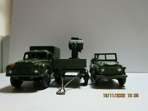 Dinky Toys Military 641-674 & 621 trailer ( Code 3 -2 -1.5 or Converted)?