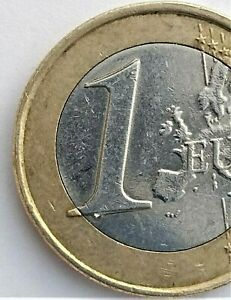 1 euro coin Greece 2010 rare collectible faulty stamp both side errors numerous