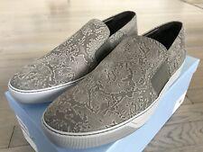 700$ Lanvin Gray Nubuck Slip On size US 13
