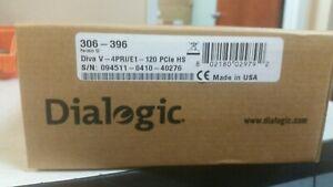 Dialogic DIVA V-4PRI/E1/T1-120 PCIe Half Size - NEW FACTORY SEALED (306-396)