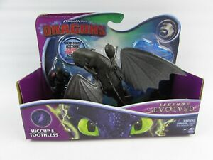 How To Train Your Dragon Legends Evolved Hiccup Toothless Action Figure Toy New
