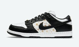Nike x Supreme SB Dunk Low Stars Black 2021 Size 12 *ORDER CONFIRMED*