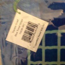 Vera Bradley Square Scarf - Blue Tonal Stripe - NWT & Free shipping