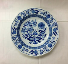 "HUTSCHENREUTHER ""BLUE ONION"" RIM SOUP BOWL 8 1/4"" PORCELAIN NEW  GERMANY"