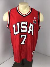 1996 SHERYL SWOOPES OLYMPIC BASKETBALL JERSEY CHAMPION LARGE Sz 44 NWT NEW