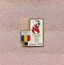NOC OF ANDORRA OLYMPIC OFFICIAL PIN ATLANTA 1996
