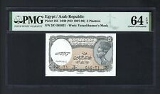 Egypt 5 Piastres 1940(1997-98) P185 Uncirculated Grade 64