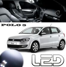 POLO 5 6R V Pack 10 bombillas LED Blanco Cabina Luz techo Maletero Espejos