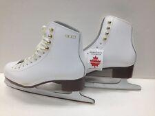 GAM 0020 Ice Skates    NEW  Women's SIze US 7 B   White      !@