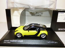 Minichamps Smart Roadster coupe yellow 2002 REF:032120