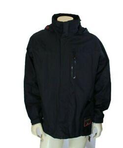 New Hawke & Co Men's 3 in 1 Black Winter Jacket w/ Beanie Size M Retail