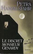Livre le discret monsieur Genardy  Petra Hammesfahr book