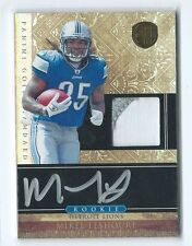 2011 Gold Standard Mikel Leshoure RPA PRIME PATCH RELIC AUTO RC #267 240/525