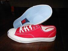 CONVERSE JP SIGNATURE OX 147561C Shoes Size 8.5 US 42 EUR Crimson
