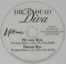 Drop Dead Diva 2 episodes - U.S. promo dvd