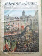 La Domenica del Corriere 31 Ottobre 1920 Annessione di Trento Zar Nicola Milano