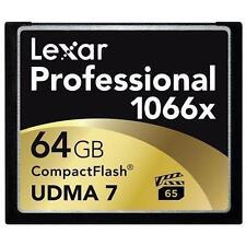 Lexar Professional 64GB 1066x - CompactFlash I Card - LCF64GCRBNA1066