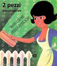 SPUGNA MAGICA 0Z 2 PEZZI - PER LA PULIZIA DI PARATI/TAPPEZZERIA, PARETI, DIVANI