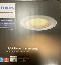Philips Hue White Ambiance LED Smart Wireless Recessed Downlight