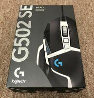 Logitech G502 HERO SE Wired Optical Gaming Mouse w/ RGB Lighting Black New!