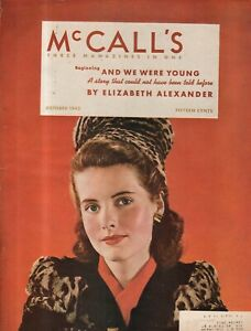 1942 McCalls October - Will Rochester VT survive? Mexican Americans in Chicago