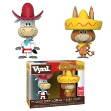 FUNKO VYNL HANNA BARBERA QUICK DRAW MCGRAW BABA LOOEY 2 PACK SDCC 2018 EXCLUSIVE