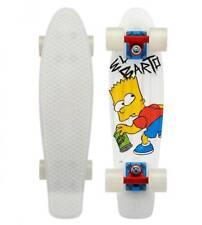 Penny Cruiser Simpsons El Barto Bart Skateboard 22 Zoll NEU 104513