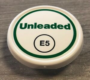 1 x E5 Unleaded Cap for ZVA Nozzles, Badge