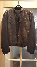 Roberto Cavalli Men's Leather Jacket