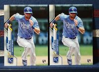 2020 Topps Series 1 #74 Bubba Starling RC Rookie Lot Kansas City Royals